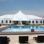Special Shape Romantic Wedding Marquee for Sale