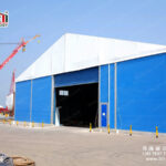 Temporary Warehouse Structure Building Large Construction Tent