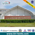 Hot Sale TFS Curve Tent 20m for outdoor event or party in Europe
