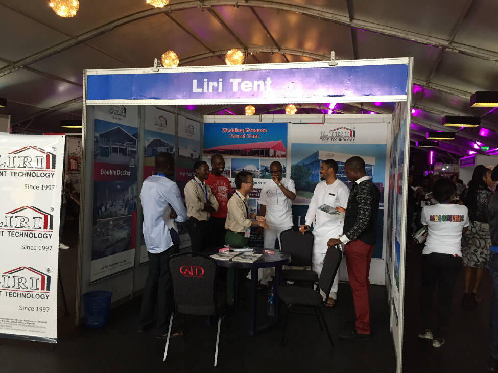 Liri Tent in Port Harcourt, Nigeria.