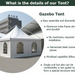 High Quality Aluminum gazebo pop-up tent for Sale