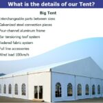 40m large beer festival marquee for event center