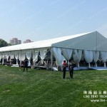 what should we concern when hiring a trade show tent?