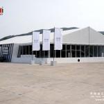 Test drive auto show exhibition tent