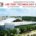 50 people white PVC Tent with roof cover for sale