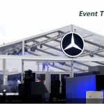 20m Clear PVC Car Show Tent For Benz Event In HongKong