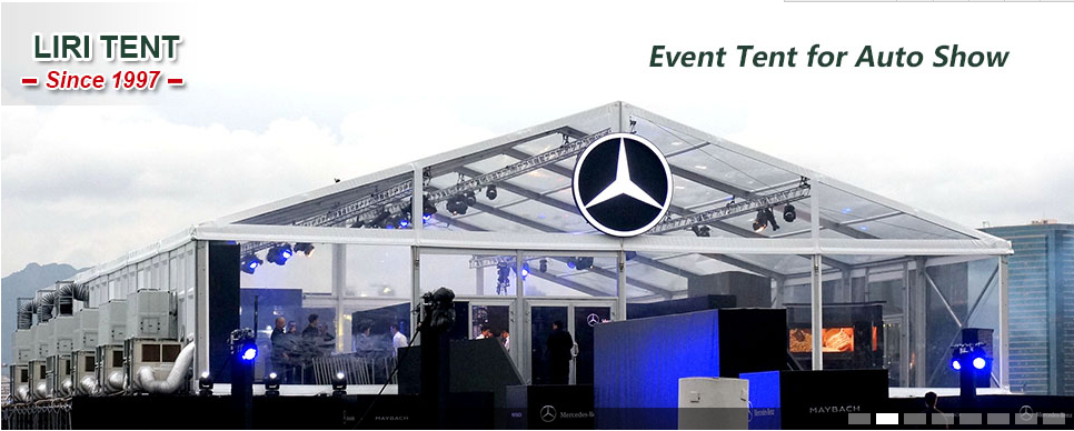 M Clear PVC Car Show Tent For Benz Event In HongKong Marquee - Car show tent