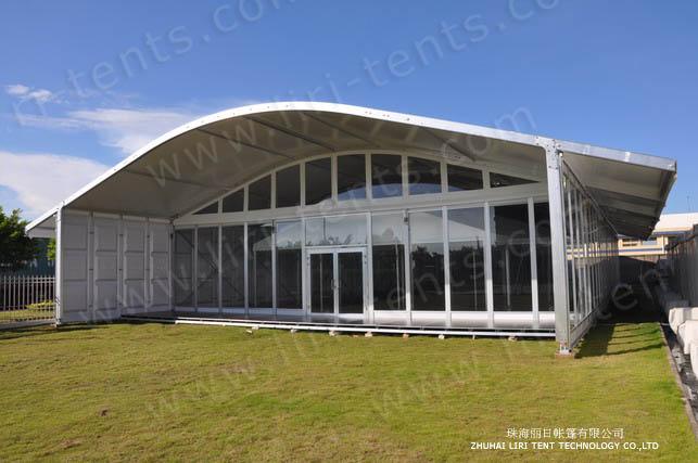 The super unique Arcum Tent for outdoor events