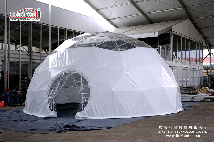Newest Design in 2015 Hot Sale Half Sphere Tent in all sizes
