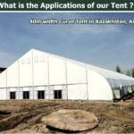 Hot Sale Hajj Curve Tent for Outdoor Event In Mid East