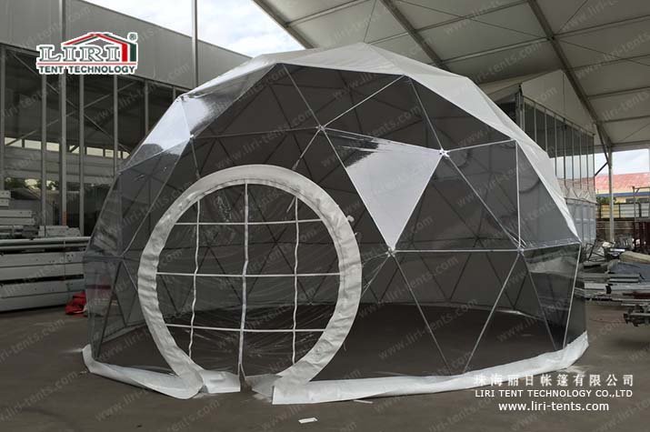 The most spacious, lightest, most effective design- Half Sphere Tent
