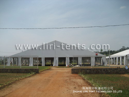 50mx100m Huge Trade Show Tent with Aluminum Frame for Sale