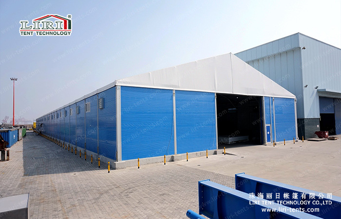 Temporary warehouse tent hall for sale
