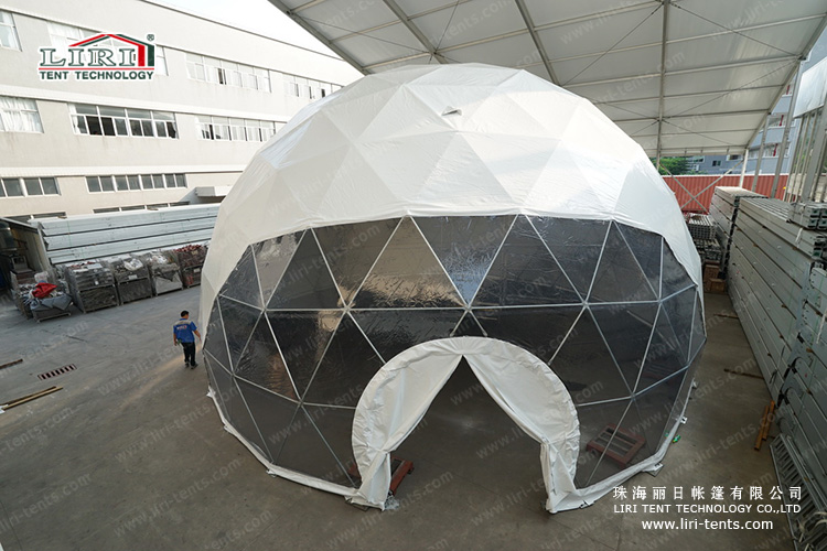 14m Diameters Half Sphere Tent for 200 people