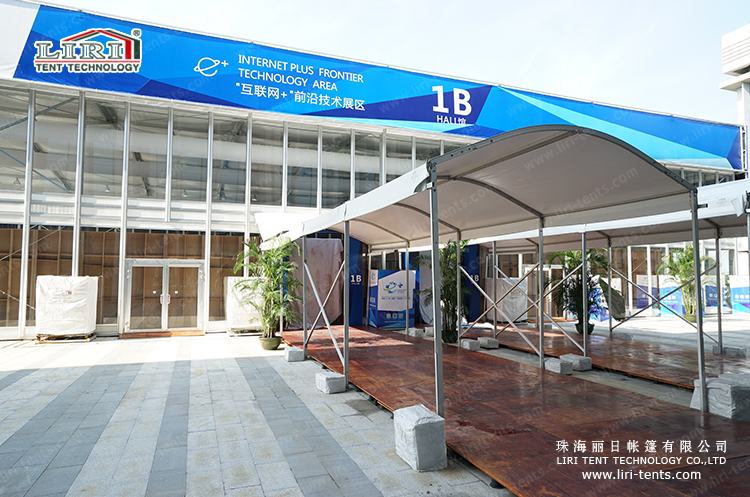 LIRI Dome Aisle Tent for Internet Plus Exposition China Guangdong 2015 (1)