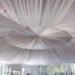 polygon marquee tent for outdoor wedding party