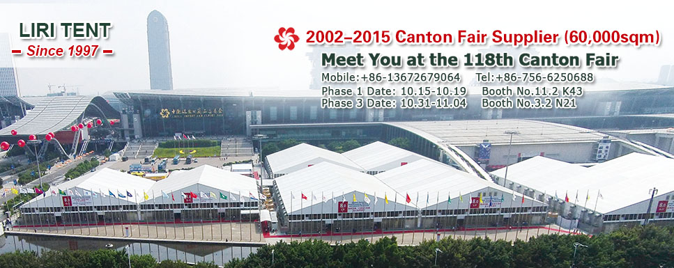 Fair Show Marquee for Canton Fair