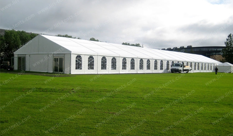 350 people large luxury aluminum wedding marquee tent