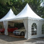 Liri Brand Commercial Outdoor Gazebo Tent for Car Show