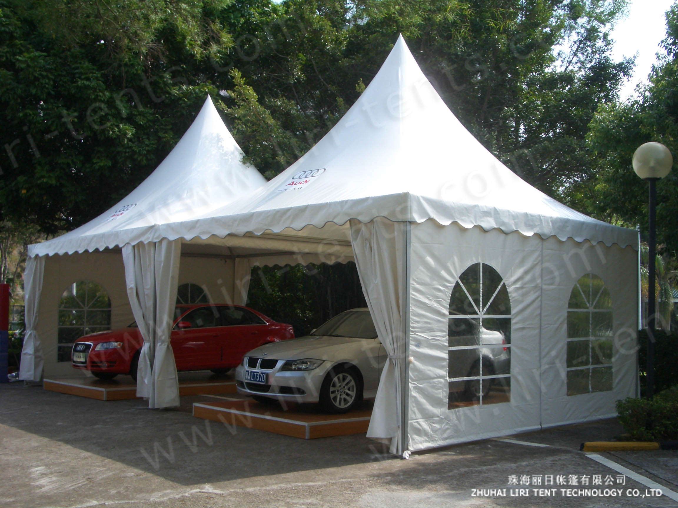 & Liri Brand Commercial Outdoor Gazebo Tent for Car Show