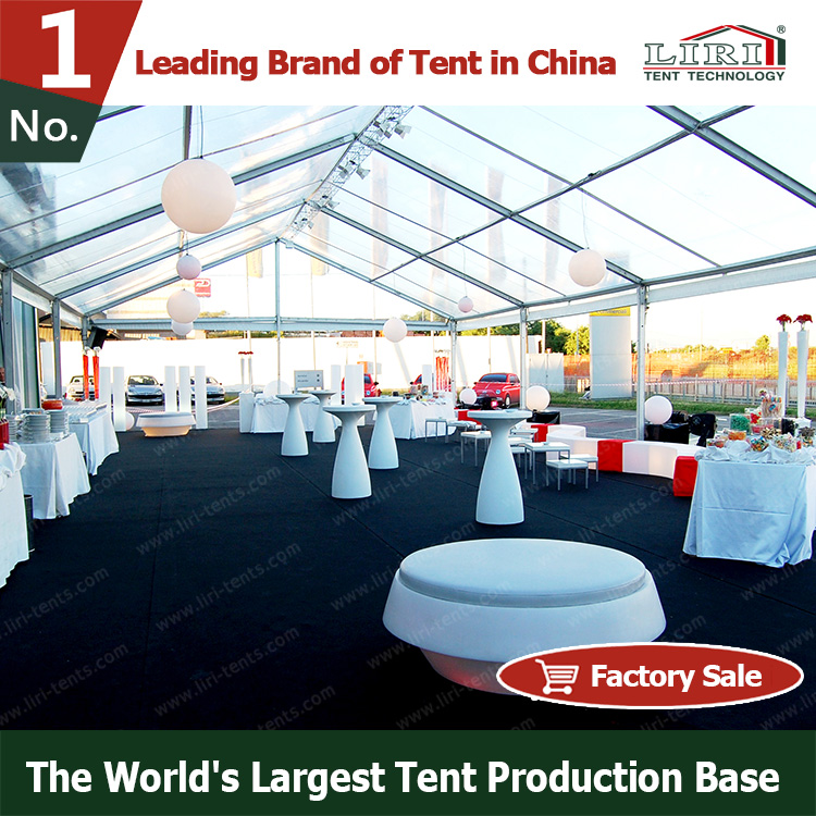 20x30m Hot Sale Aluminum Polygon Sport / marquee tent for 500 people