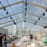 Transparent Canopy Tent for Benz Auto Exhibition