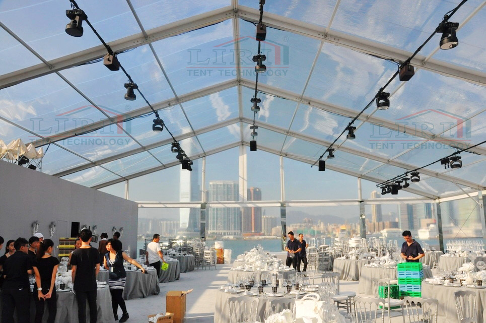 Transparent Canopy Tent for Benz Auto Exhibition