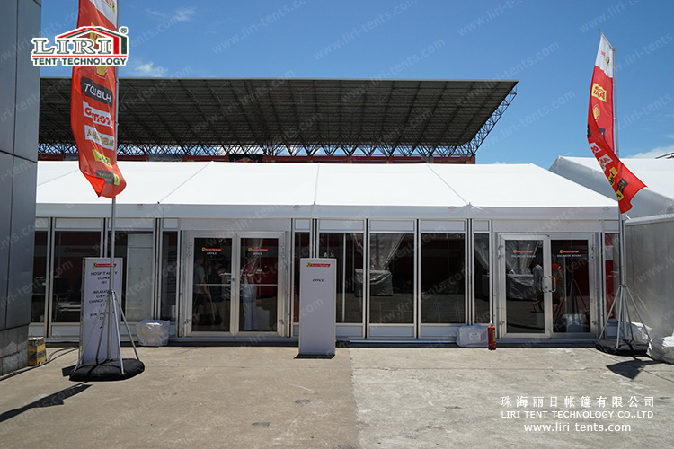 Event Marquee Tent with Air Conditioner
