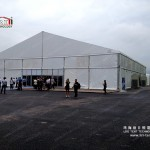warehouse with rolling door storage tent for sale
