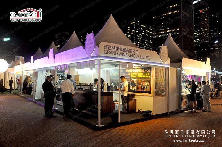 Liri Tent for 2015 HongKong red wine festival (39)