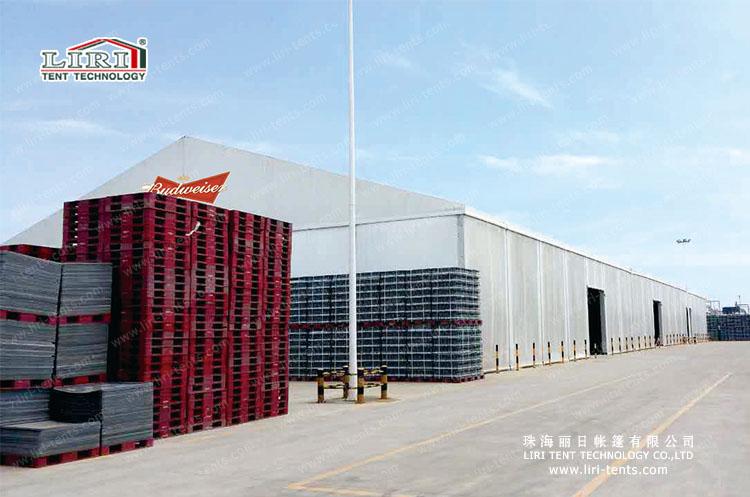 Liri Warehouse Tent for Budweiser