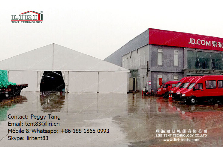 Temporary Warehouse Structures Tent For Storage from Chinese Liri ...