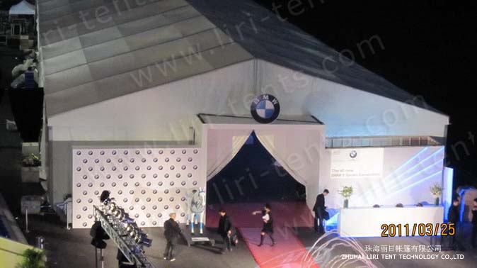 Custome Tents For Car Show Bmw Product Launch Marquee