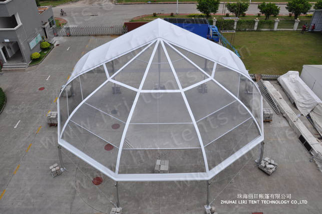 20m Onion Type End Curved Tent 4