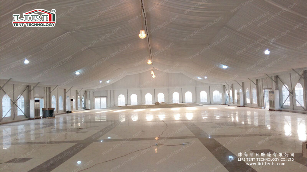 Movable Arcum Church Tent For Event Center In Nigeria