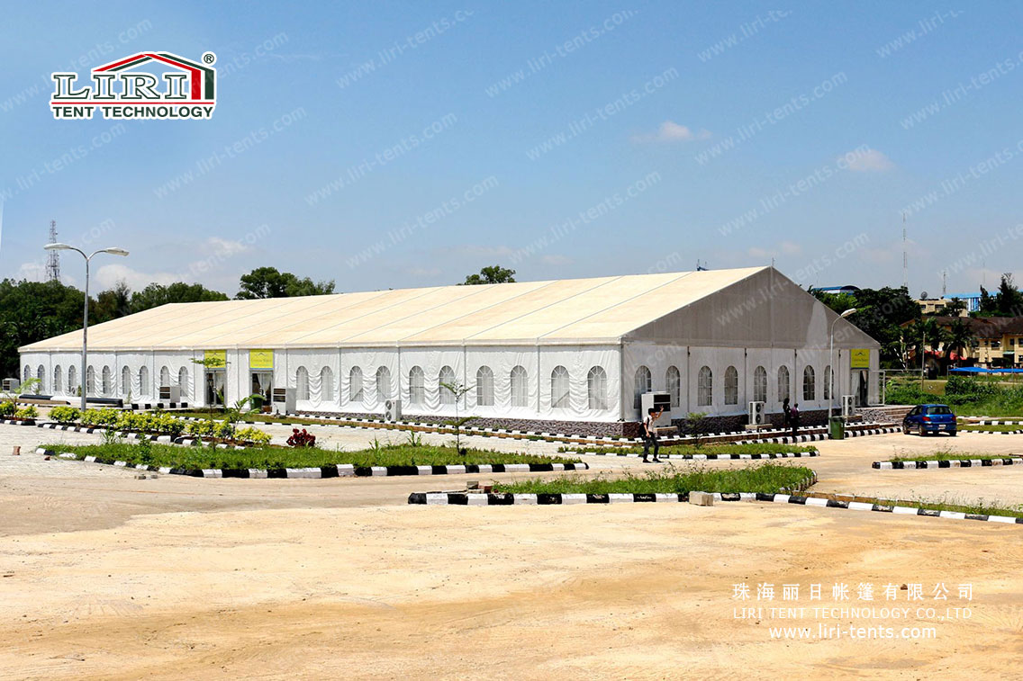 Outdoor big church marquee tent for 1500 people