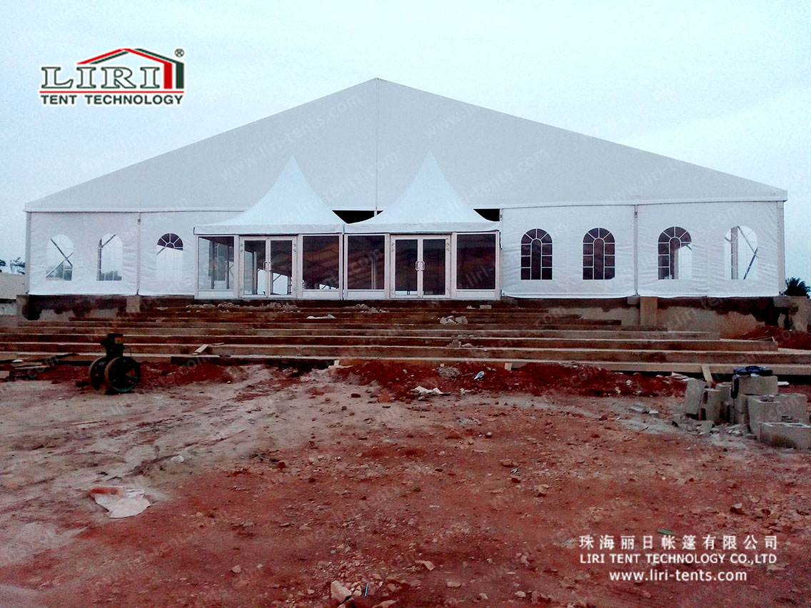 Church Tent with hard wall