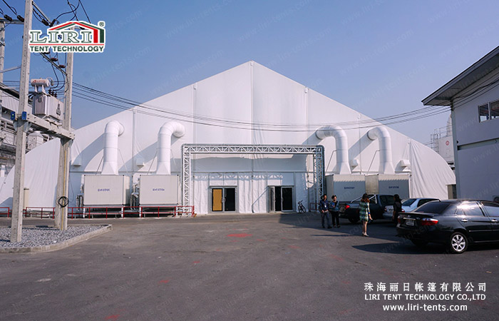 20x50m White TFS Curve Tent in Middle East