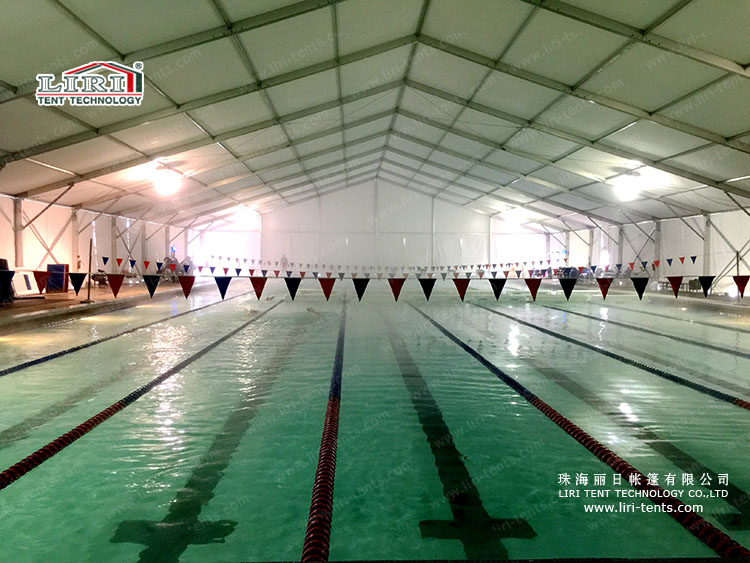 30m sport tent for swimming pool cover for sale marquee for Pool trade show 2015