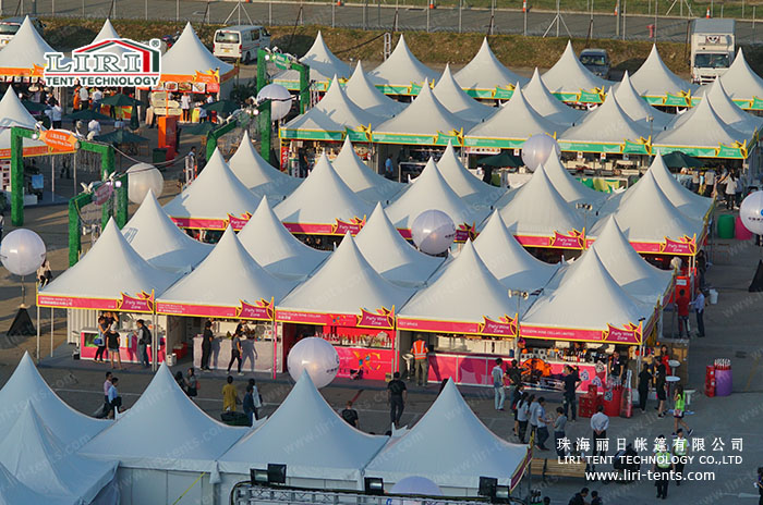 5X5m Sport Tent for Athletes in Asian Games