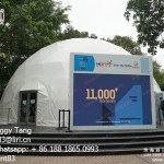 Special Design Geodesic Dome Tent for Sale from Liri Tent Brand