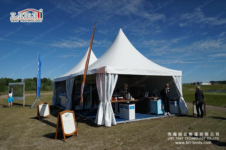 pagoda tent 6×6m