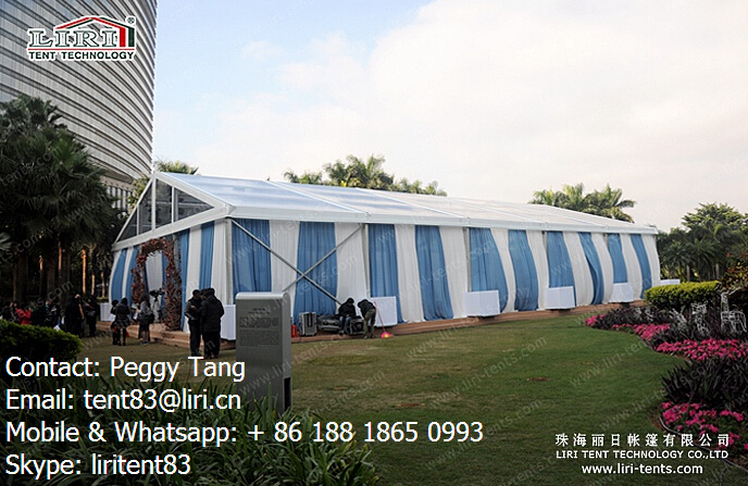 wedding marquee tent clear