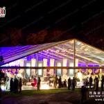 Hot Sale Clear Top Tent Transparent Roof Wedding Reception Marquees in Guangzhou
