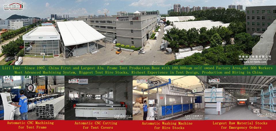 LIRI tent factory