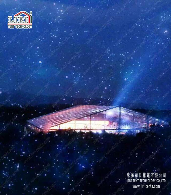 transparent big tent 50m for party