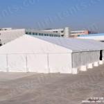 15X25m Hajj Tent Ramadan Tent with Plain PVC Sidewalls