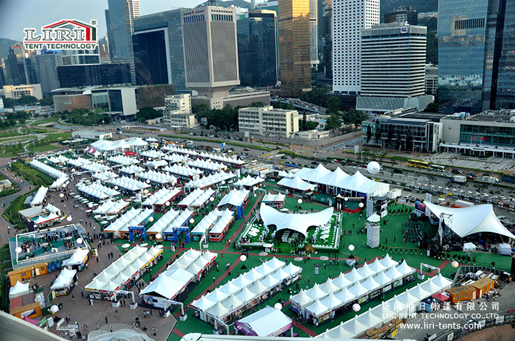 Liri Tent for 2015 HongKong red wine festival (19)