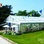 Clear PVC High Peak Tent For Wedding Party