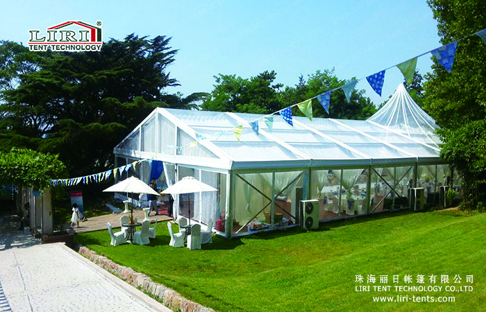 Clear Pvc High Peak Tent For Wedding Party Marquee Tents